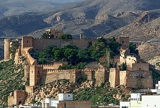 Alcazaba of Almería - Image: Alcazaba de Almería