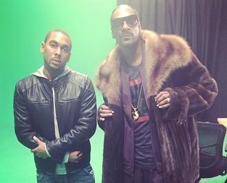 Ousala Aleem - Aleem with Snoop Dogg