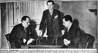 José Raúl Capablanca - Alekhine vs. Capablanca