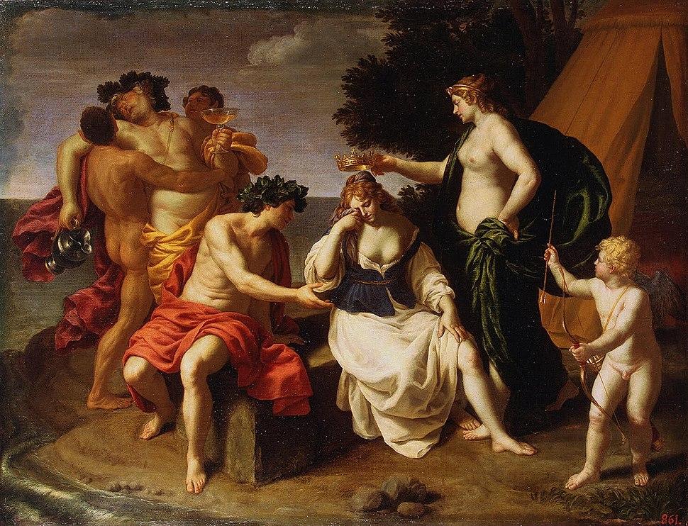 Alessandro Turchi (L'Orbetto) - Bacchus and Ariadne - WGA23156