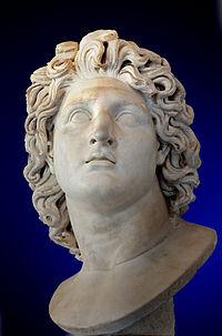 Alexander the Great as Helios. Roman copy of Greek original