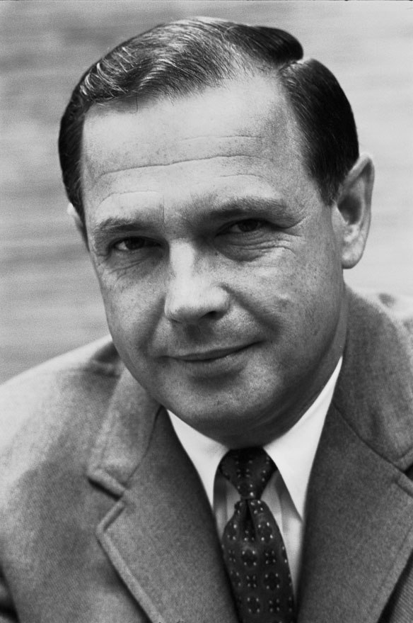 Alexander Butterfield, photo portrait, Nixon administration, black and white
