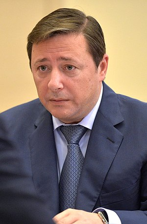 Deputy Prime Minister of Russia - Image: Alexander Khloponin (2015 10 09)