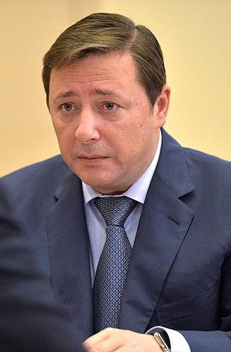 Deputy Prime Minister of Russia - Image: Alexander Khloponin (2015 10 09)