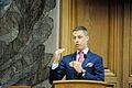 Alexander Stubb (saml) Finlands samarbetsminister. Nordiska radets session 2011 i Kopenhamn.jpg