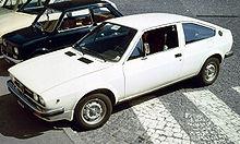 Un'Alfasud Sprint, ovvero la versione coupé