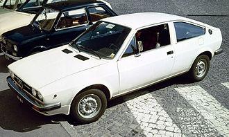 Alfa Romeo Sprint - 1976–1978 Alfasud Sprint