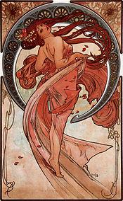Alfons Mucha - 1898 - Dance