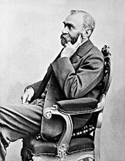 Alfred Nobel.
