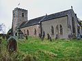 All Hallows, Great Mitton, from south.JPG