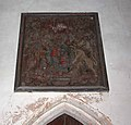 All Saints Church, Wretton, Norfolk - Royal Arms - geograph.org.uk - 942228.jpg