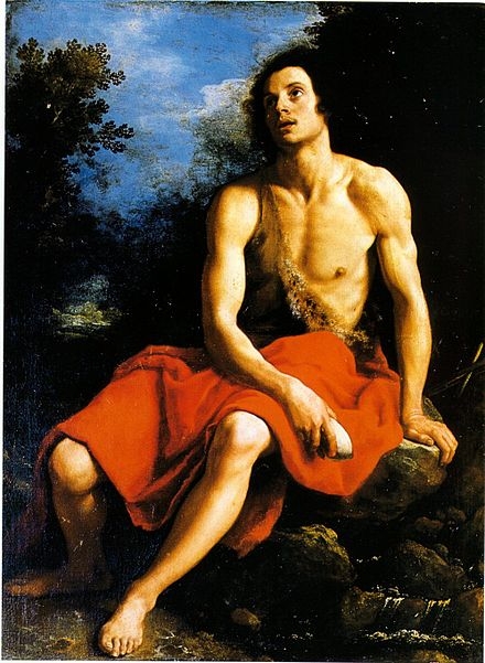 Cristofano Allori's John the Baptist in the desert Allori C San Giovanni.jpg