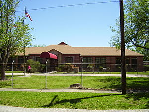 Almeda, Houston - The former Almeda Elementary School building