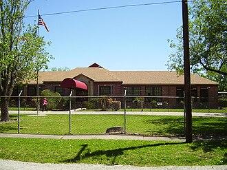 Almeda, Houston - The former Almeda Elementary School building
