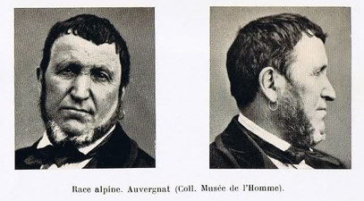 A Frenchman from the Auvergne - of the Alpine (Alpinoid) type