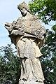 Alsóbogát, Nepomuki Szent János-szobor 2021 06.jpg