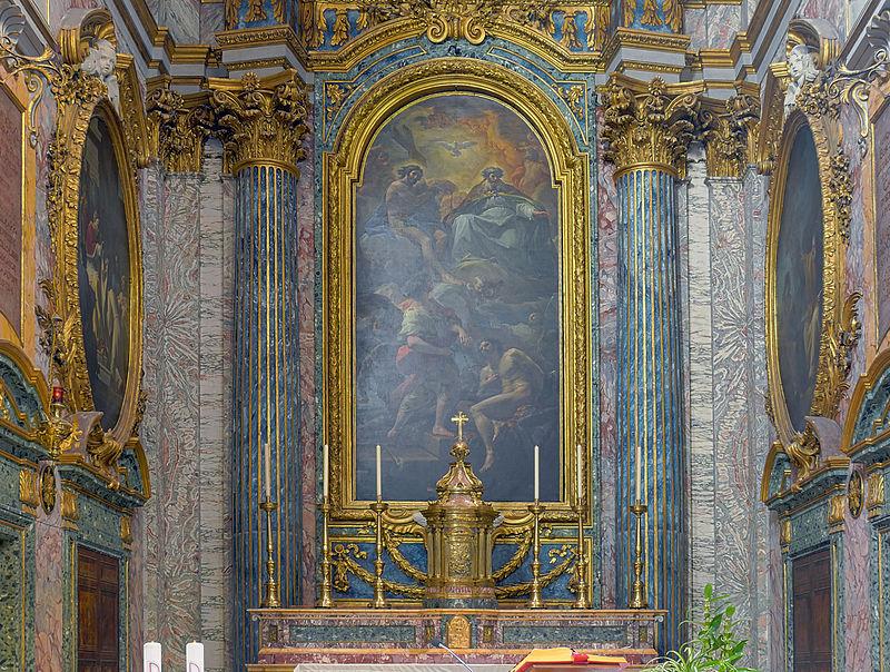 Altare av den heliga Treenigheten av spanjorerna (Rom) .jpg