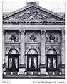 Alte städtische Tonhalle in Düsseldorf, 1863, Erweiterung von 1889 bis 1892, Architekten Hermann vom Endt und Bruno Schmitz, Stadtbaumeister Eberhard Westhofen und Stadtbaurat Peiffhoven, Hauptfassade.jpg