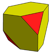 Alternate truncated cube