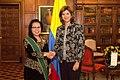 Ambassador Trie Edi Mulyani and Maria Angela Holguín.jpg