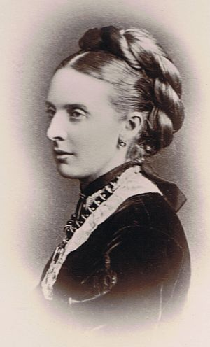 John Francis William, 6th Count de Salis-Soglio - Amelia Frances Harriet, Countess de Salis (1837-1885).
