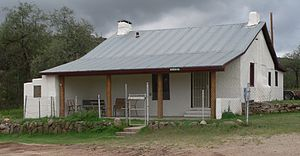 National Register of Historic Places listings in Pinal County, Arizona - Image: American Flag post office from NE 1