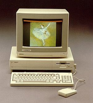 History of the Amiga - The Amiga 1000's graphics abilities were revolutionary for its time.