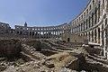 Amphitheatre, interior, 2015 Pula, Croatia - panoramio (11).jpg