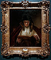 Amsterdam - Rijksmuseum - Late Rembrandt Exposition 2015 - An Old Woman Reading 1655.jpg