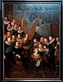Amsterdam - Rijksmuseum 1885 - The Gallery of Honour (1st Floor) - Company of Captain Cornelis Bicker and Lieutenant Frederick van Banchem 1638-1640 by Joachim von Sandrart.jpg
