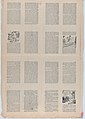 An uncut sheet printed on both sides with pages from 'Perucho el Valeroso' and 'Perlina la encantadora' MET DP873192.jpg