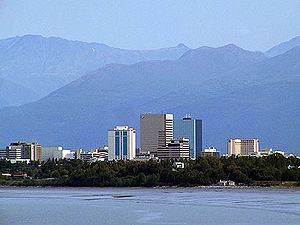 Anchorage, Alaska's largest city