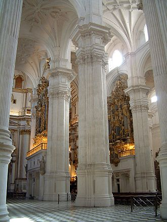 Granada Cathedral - Inner view.
