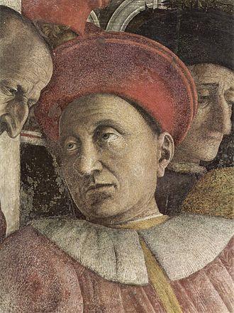 Ludovico III Gonzaga, Marquis of Mantua - The Court of Mantua, detail: Ludovico III Gonzaga, Marquis of Mantua