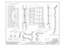 Andrew Burns House, 859 South Main Street, Geneva, Ontario County, NY HABS NY,35-GEN,3- (sheet 12 of 12).png