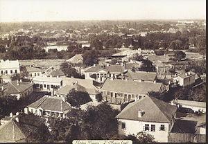 Cișmigiu Gardens - 1856, photo taken by Ludwig Angerer