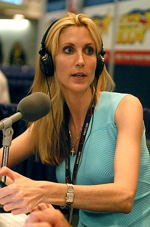 Ann Coulter at the 2004 Republican National Co...