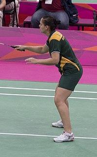 Annari Viljoen Badminton player