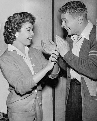 Annette Funicello - Funicello and Richard Tyler on The Danny Thomas Show (1959)