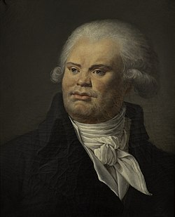 Anonyme - Portrait de Georges Danton (1759-1794), orateur et homme politique - P712 - musée Carnavalet.jpg