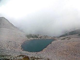 Ansoo Lake - Ansoo Lake, Kaghan Valley
