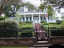 Antebellumhus i Natchez, Mississippi.