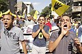 Anti-coup protesters march in Maadi-Cairo 20-Sep-2013.jpg