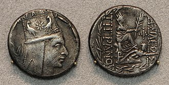 Tigranes the Great - Image: Antiochia, tigranes II, tetradracma, 83 69 ac ca