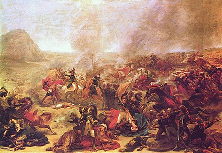 Battle at Nazareth by Gros Antoine-Jean Gros 010.jpg