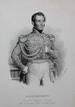 Antoine Marc Augustin Bertoletti - Lieutenant General Antoine Marc Augustin Bertoletti