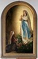 Antonio Ciseri, Apparizione della madonna a bernadette di lourdes, 1879, 01.jpg