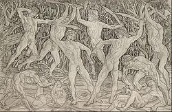 Antonio Pollaiuolo - Battle of the Nudes - Google Art Project.jpg