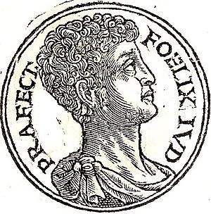 Antonius Felix - Antonius Felix from Guillaume Rouillé's Promptuarii Iconum Insigniorum
