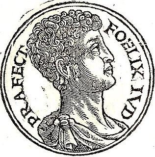 Antonius Felix 1st century Roman politician and procurator of the Judea Province